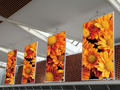 JV150 Series:旗幟廣告
