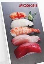 表現出食物豐盈飽滿的感覺:握壽司