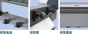 排氣風扇、排氣管、排氣蓋板