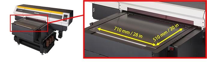 印刷範圍 710mm×510mm(28inch×20inch)