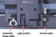 自動裁斷切割機 / 光標 / 主要切割機