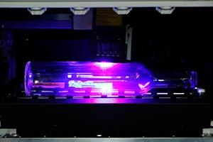 可讓圓柱狀素材360°直噴UV印刷