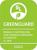 GREENGUARD Gold認證