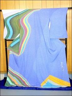 加賀友禪印刷樣品 日本和服
