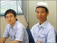 左:柳澤由英さん 右:宮崎法明さん