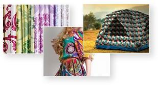 在聚酯纖維等化學纖維上展現豐富的色彩表現!