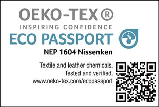 ECO PASSPORT認證標章No. NEP 1604
