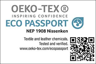 ECO PASSPORT認證標章No. NEP 1908