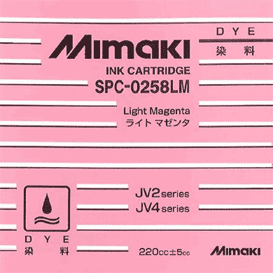SPC-0258LM Water-based dye ink Light Magenta