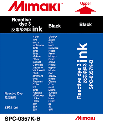 SPC-0357K Reactive dye ink Black