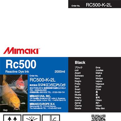 RC500-K-2L Rc500 Black