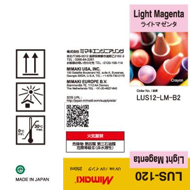 LUS12-LM-B2 LUS-120 Light Magenta