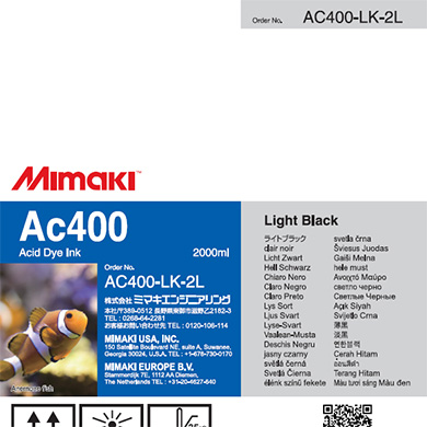 AC400-LK-2L Ac400 Light Black