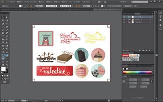 使用印刷機附屬PC的Illustrator開啟檔案