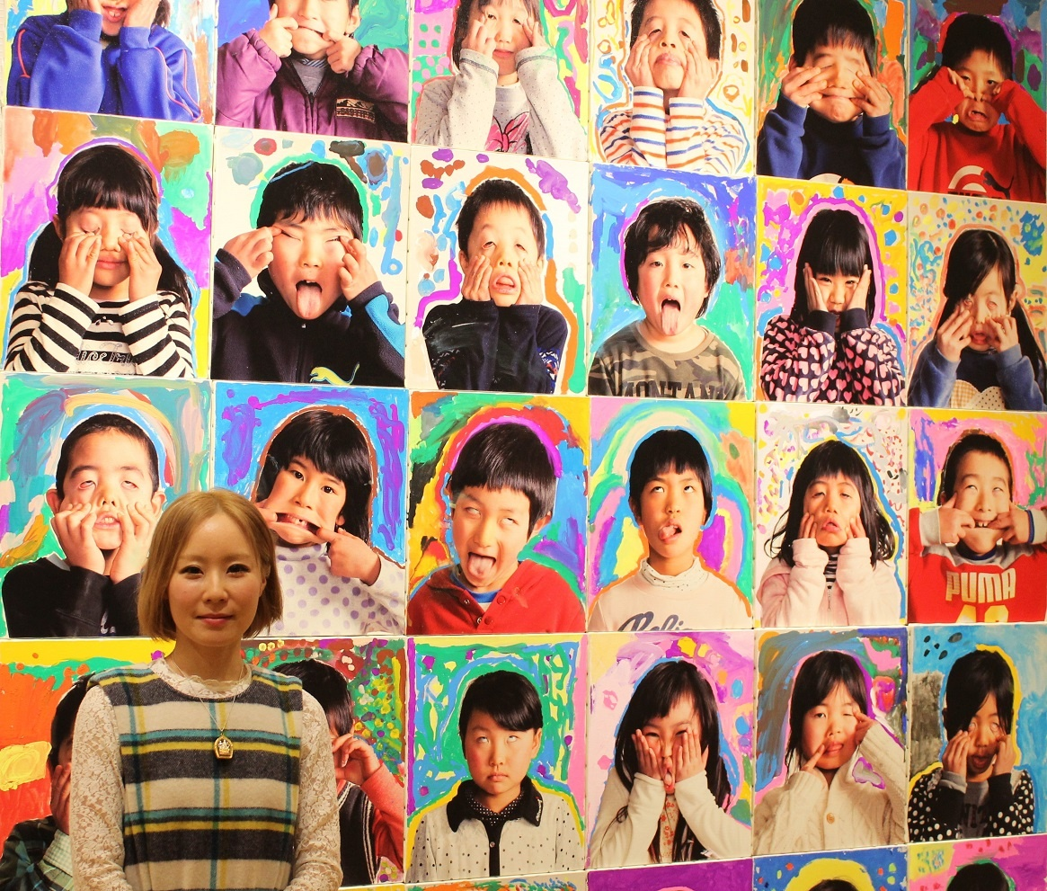 「越千尋」特別課程「Appupu Project」「設計師 百瀨明彥(MOMOTOSE)」×ART「畫家 越千尋」合作企劃