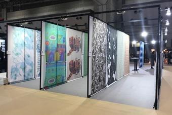 與「JAPANTEX2017 數位印刷展」合作