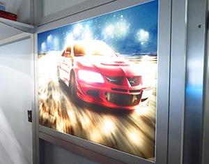 使用「UCJV300」製作的Day&Night廣告