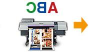 昇華轉印印刷的作業流程2