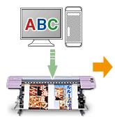 直噴昇華印刷的作業流程2